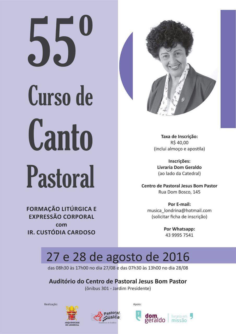 55 curso de canto pastoral