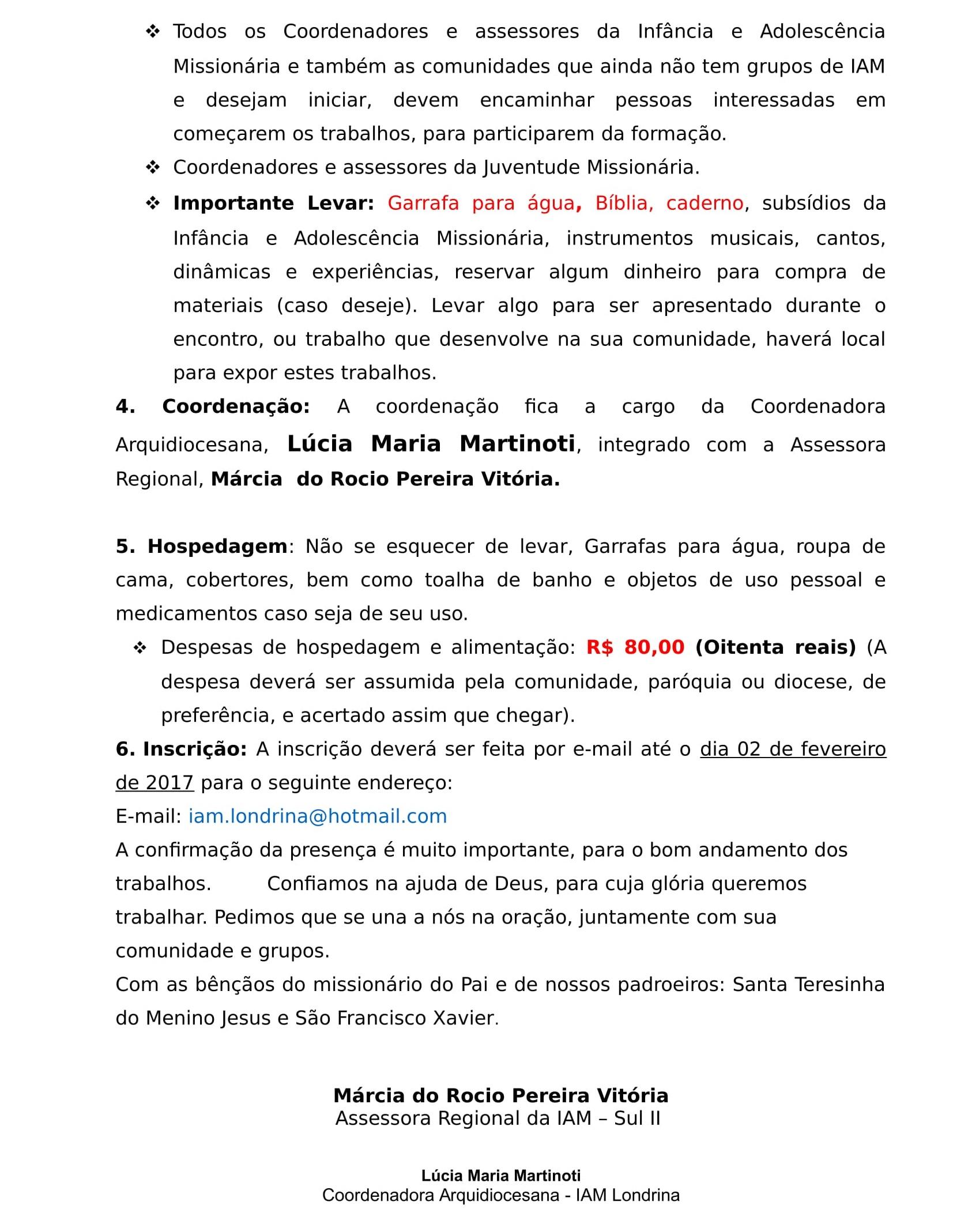 CARTA Convite EFAIAM 2