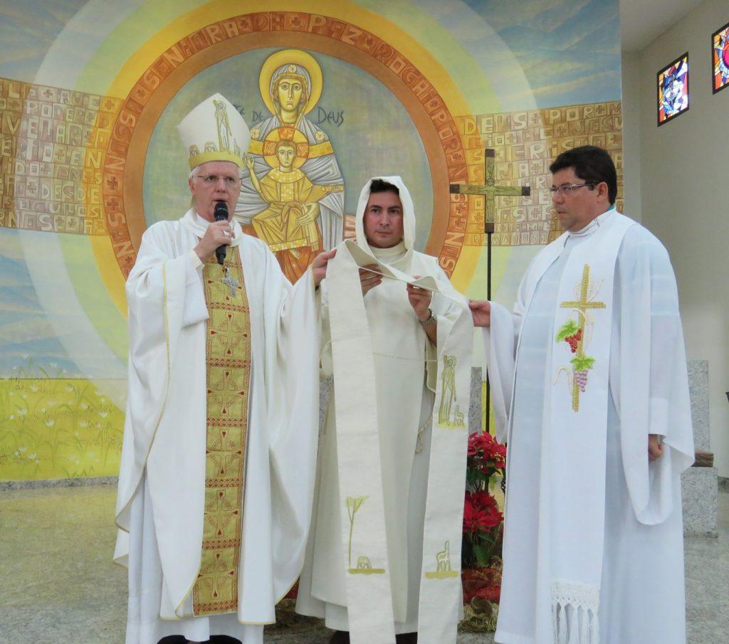 Posse Pe. Alessandro na Paróquia Nossa Senhora da Paz