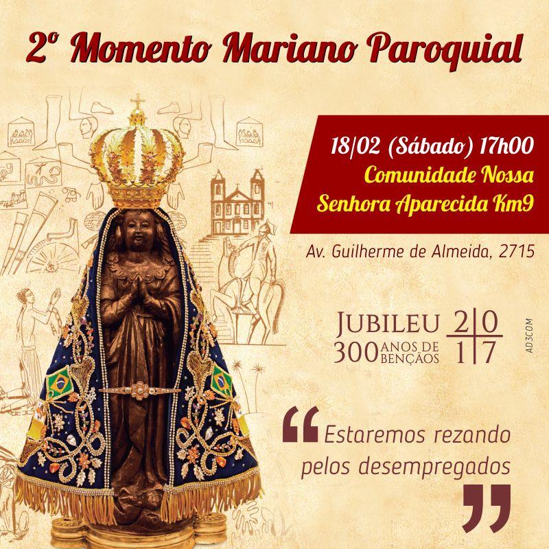 2 momento mariano p. n. aparecida km9