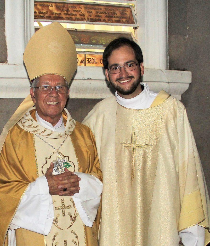 Dom Manoel João Francisco e Diácono Djonh Denys